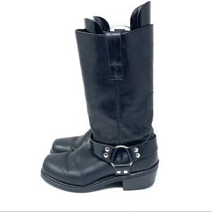 Rockwood Leather Biker Boots